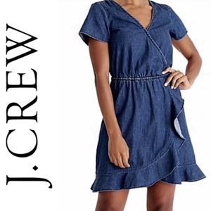J. Crew Chambray Denim Dress